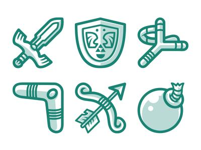 Zelda Icons