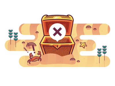 404 page for RubyGems illustration web design vector drawing design ruby