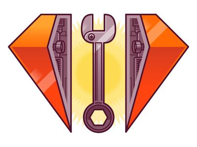 Under Maintenance illustration vector design web design drawing line ruby digital