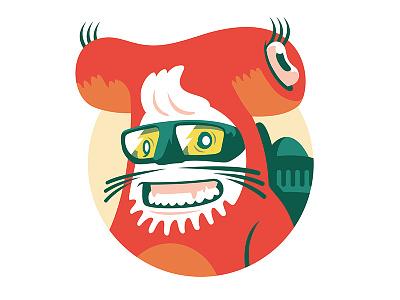 Wicked Good Ember - So Cal drawing mobile app web design design illustrator vector branding character design logo illustration