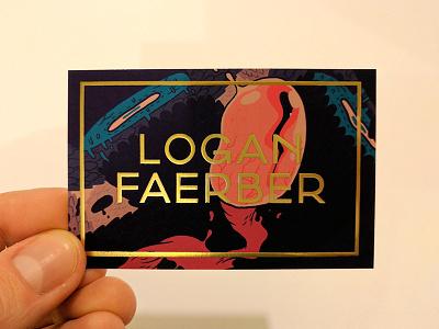 New Business Card illustrator photoshop art font typography illustration print business card design