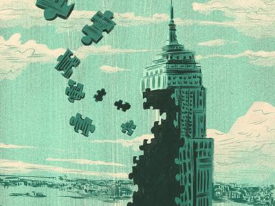 Puzzle building d