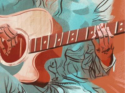 Guitar player d