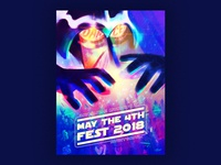 May The 4th Fest 2018 Poster