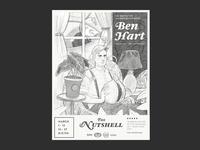 Ben Hart Poster Sketch A