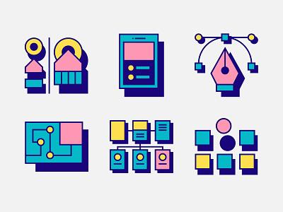 New Clade Design Website Illustrations branding vector digital art illustrator art design digital drawing illustration