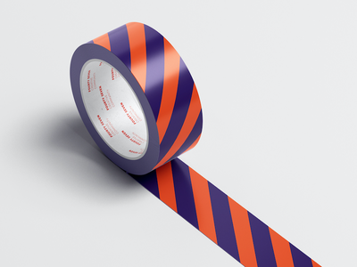47 Creative Community design graphic 2018 modern symbol reddish orange purple rounded colorful tape branding creative