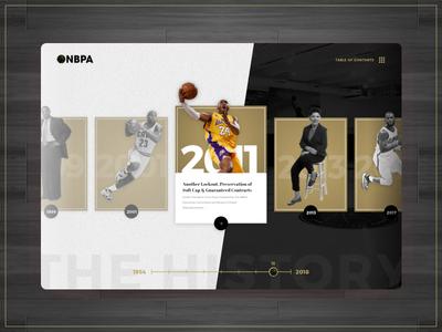 Timeline Concept - NBPA