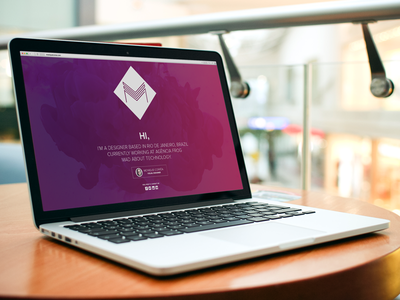 new portfolio website redesign portfolio clean grandient branding