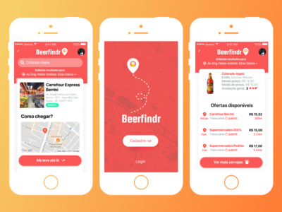 Beerfindr 🍻 drink drinking app product search beer app mobile app beer