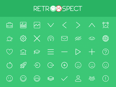 Retroospect Icons