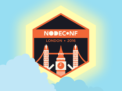 Nodeconf London 2016 logo (Day)