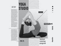 Yoga Studio Poster