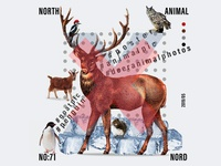 North Animal Poster