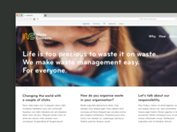 Waste Connects Website