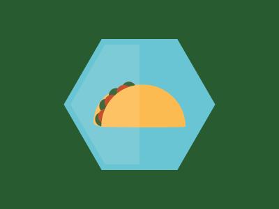 Taco Icon icon design icon illustration jmc100days illustrator austin atx texas tacos taco