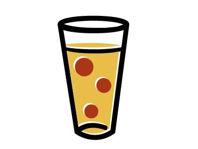 ABGB  beer pizza abgb local redesign design brand identity logo