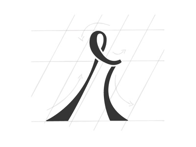 "Swooshy ""r"" swooshy typography r hand-lettering"