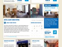 Travel planner app hotel booker