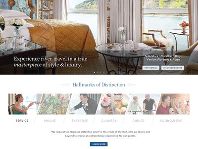 Travel Website Design website design travel luxury travel website css