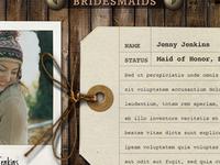 Bridesmaids Tag