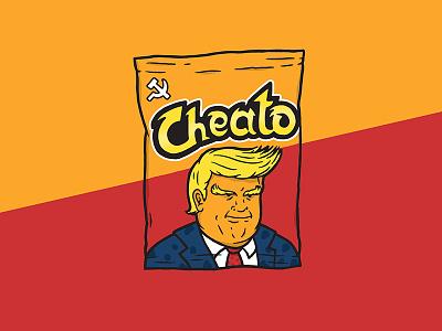 Cheato russia fda approved orange cheeto clown trump