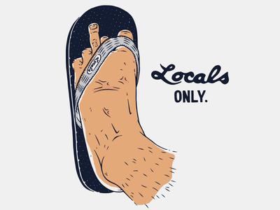 Locals Slippahs