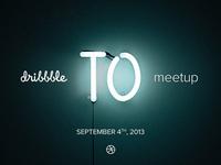 dribbble Toronto Meetup!