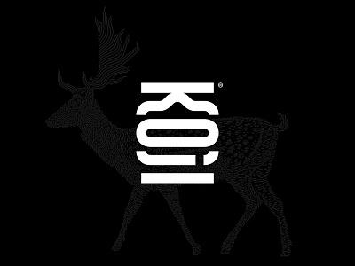 KOJI Logo Exploration type mark line geometric japanese logo