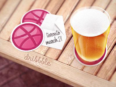 Toronto Dribbble Meetup! meetup dribbble beer