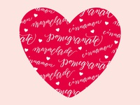 Pomegranate, Cinnamon, and Marmelade