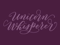 Unicorn Whisperer