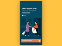 Swiggy Stores Onboarding - Live Illustrations