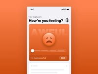 Mood Tracking - Emoji Morphing