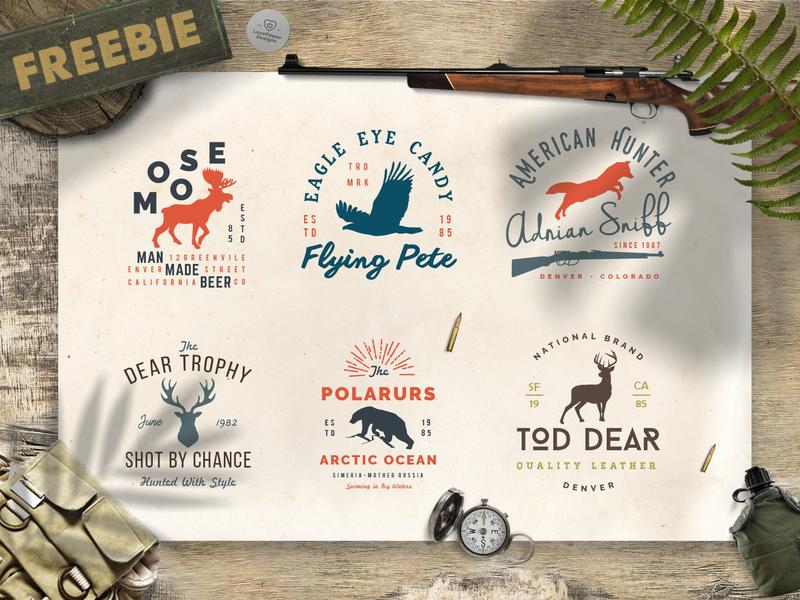 Free Wild Animals Logo Templates