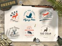 Free Wild Animals Logo Templates / Free Logo Templates