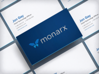 Monarx Card Mockup