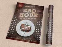 BBQ Hour Flyer