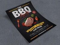 The BBQ Party Flyer
