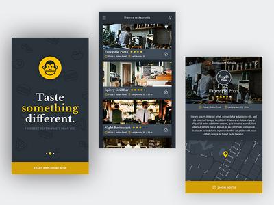 Foodmonkey Mobile App