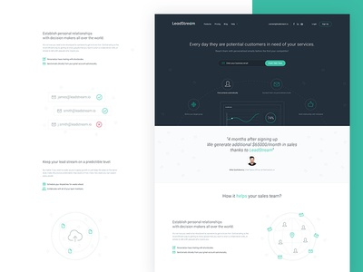 Leadstream.io Landing Page
