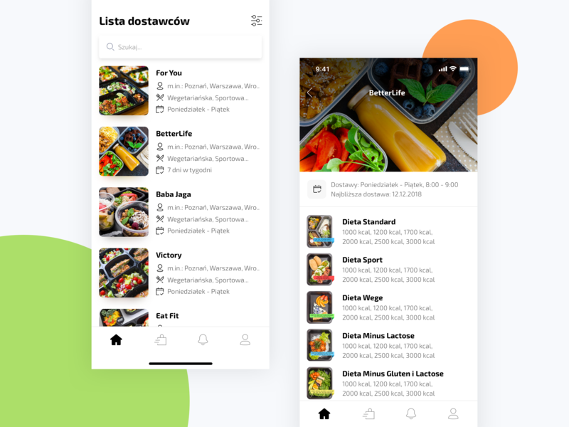 Dietary Catering App