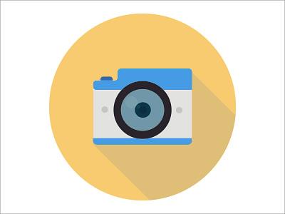 Camera film video photography photo digital technology lens equipment camera illustration icon graphic design flat design art