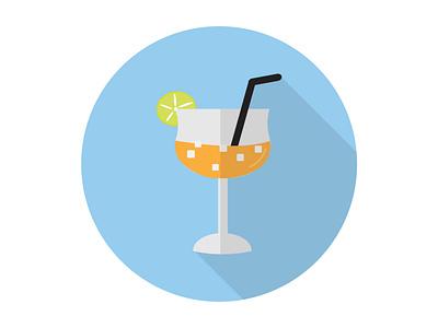 Mango Juice beverage juice sweet drink mango fruit tropical fresh healthy illustration icon graphic design flat design art