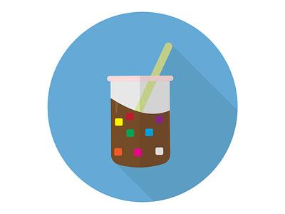 Bubble Drink texture soda clear cold water fresh liquid bubble drink illustration icon graphic design flat design art