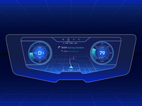 Car Dashboard UI Concept