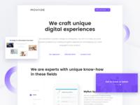 UX Studio Landing Page