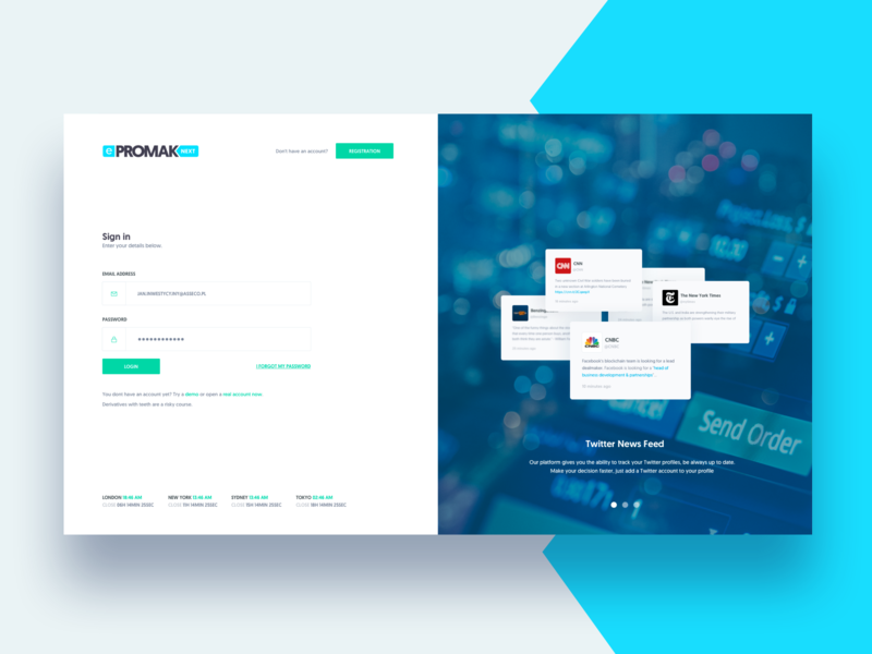 Design Bank Cor.Asseco Epromak Next Login Page By Movade On Dribbble