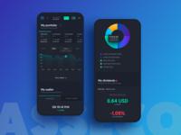 Asseco ePromak Next - dark mobile app