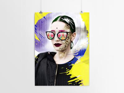 """Fashionistas must stick together"" // poster fashion fashionistas colors poster print blog fashionmadonna bloggersworld fashionmuse"